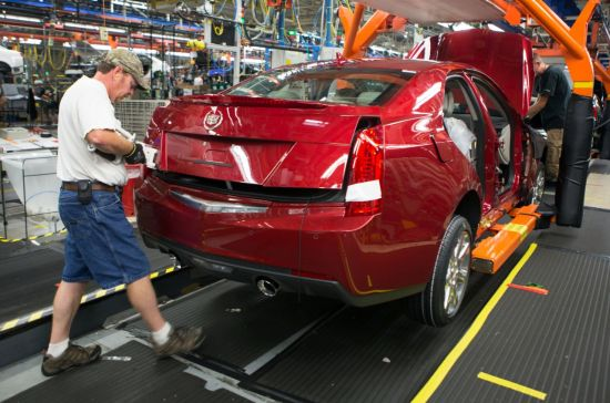 First Cadillac ATS Vehicles