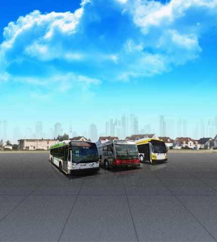 Hybrid Transit Buses