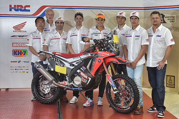 Honda Dakar Rally 2015 Riders Announced