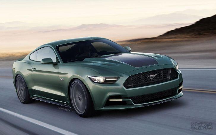 New Bullitt Mustang