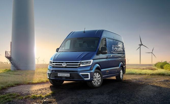 Volkswagen E-Crafter Van