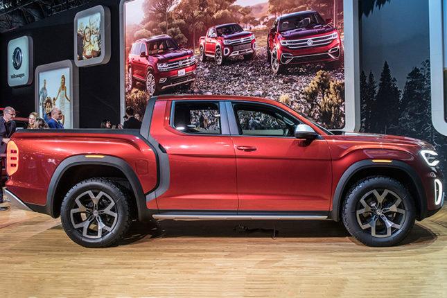 VW Atlas Tanoak pickup