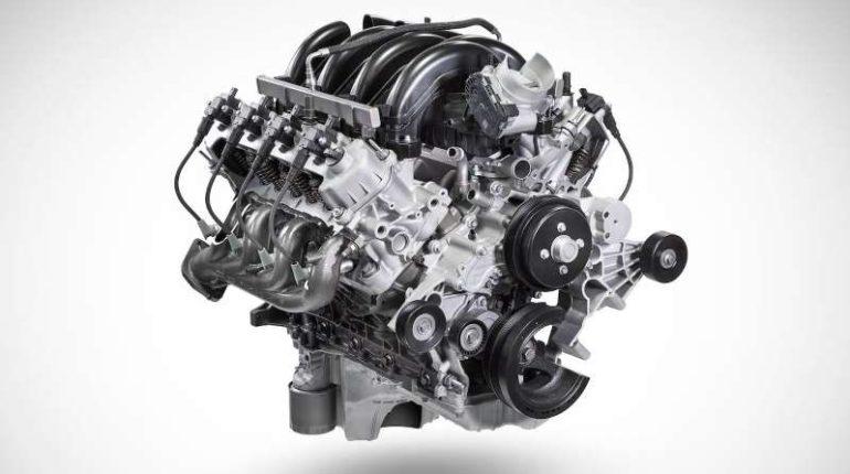 7.3-liter Gas V-8