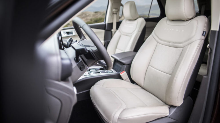 2020 Ford Explorer Seats